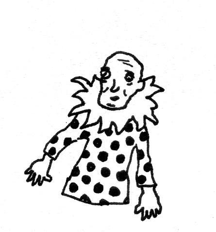 clown no legs